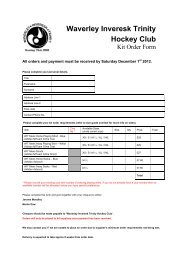 WIT Kit Order Form (editable) - Waverley Inveresk Trinity Hockey