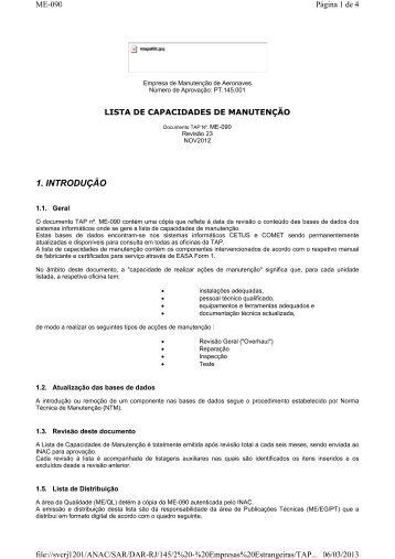 1. INTRODUÇÃO - Anac