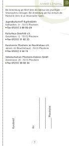 September '11 - Januar '12 - Kunstverein Pforzheim im ... - Page 5