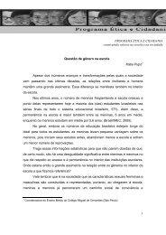1 Questão de gênero na escola Kátia Pupo1 Apesar dos inúmeros ...