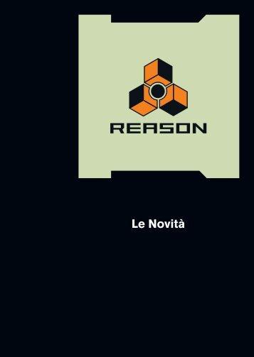 Whats new in Reason 4 ita.fm - Propellerhead