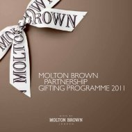 to download a copy of our 2011 Corporate brochure - Molton Brown