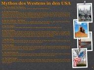 Mythos des Westens in den USA - XXL-Travelfordeaf