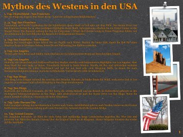 Mythos des Westens in den USA - XXL-Travelfordeaf