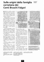 Sulle origini de - Biblioteca consorziale di Viterbo