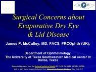 Criteria for Sjogren's Syndrome - Hawaiian Eye