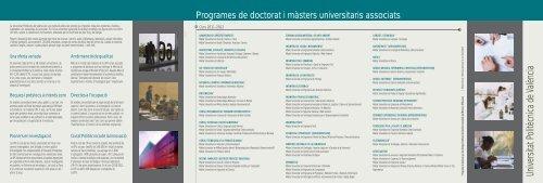 màsters universitaris