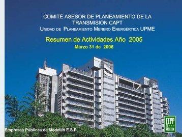 Empresas Públicas de Medellín ESP - Upme