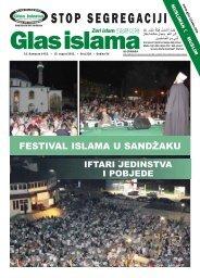 NOVI PAZAR - Glas islama
