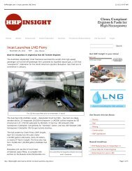 HHPInsight.com » Incat Launches LNG Ferry