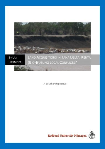 land acquisitions in tana delta, kenya (bio-)fueling local ... - RUhosting
