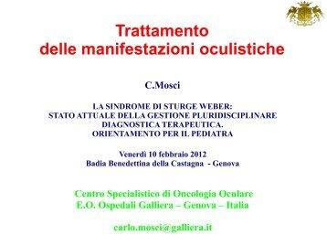 Trattamento delle manifestazioni oculistiche - La ... - Ospedale Galliera