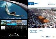 """""""Impianti per il tennis"""" in formato PDF - Federazione Italiana Tennis"""