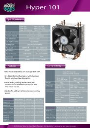 Hyper101 - Cooler Master Intranet