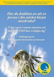 Här kan du ladda ner FMN Storstockholms broschyr (.pdf 1,96MB)