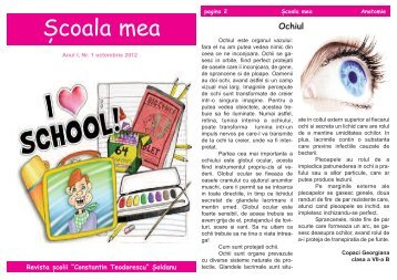 revista 1.qxd - Scoala Soldanu