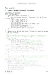 Esercizi di Fondamenti di Informatica Ver2