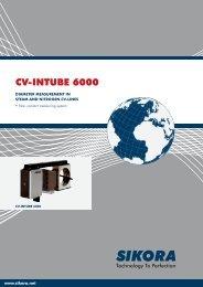CV-INTUBE 6000 - Sikora