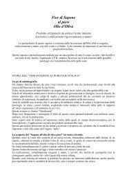 Fior di Sapone al puro Olio d'Oliva - Agriturismo Le Streghe