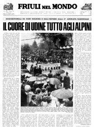 FRIULI NEI MONDO - Ente Friuli nel Mondo