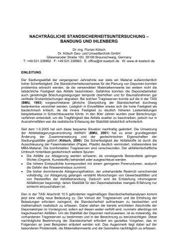 Download - Dr. Kölsch Geo