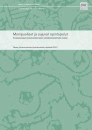 pdf-julkaisu - Opetus- ja kulttuuriministeriö