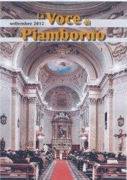 Settembre 2012 - Parrocchia di Piamborno