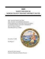 2009 - California Public Utilities Commission