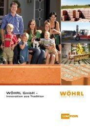 PDF-Datei: Wöhrl Image-Broschüre 2012 - Woehrl-ziegel.de