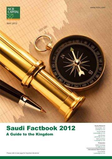 Saudi Factbook 2012 - NCBC