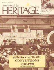 SUNDAY SCHOOL CONVENTIONS 1940-1960 - Flower ...