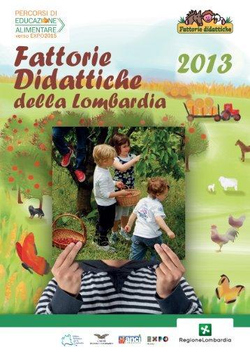Guida 2013 delle Fattorie Didattiche della Lombardia (13.0 MB) PDF