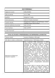 gatto_stefano - Portale del Medico di Famiglia - ULSS n. 10