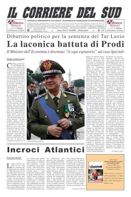 La Laconica Battuta Di Prodi Corriere Del Sud