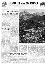 FRIUII NEL MONDO - Ente Friuli nel Mondo