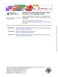 Activated T Cell Exosomes Promote Tumor Invasion via Fas ...