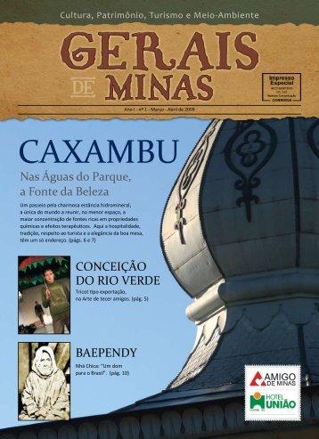 CAXAMBU - Gerais de Minas