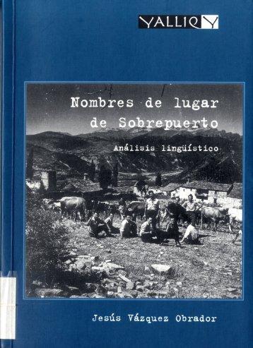 79.-Nombres de lugar de Sobrepuerto - Instituto de Estudios ...