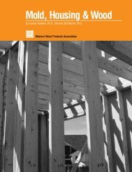Mold, Housing & Wood - Western Wood Products Association