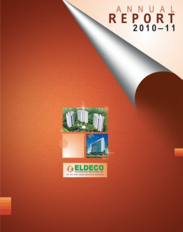 Final Annual Report 2011 - Eldeco Group