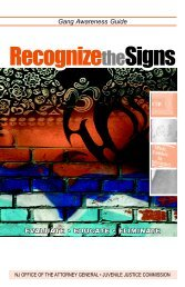 Gang Awareness Guide Recognize Signs - State of New Jersey