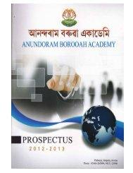 download prospectus - Anundoram Borooah Academy