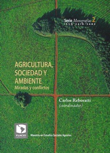 AGRICULTURA, SOCIEDAD Y AMBIENTE - Flacso