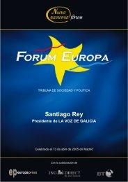Santiago Rey - Nueva Economía Fórum