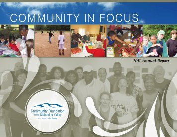 2011 Annual Report - Community Foundation of the Mahoning Valley