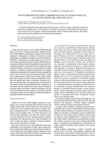 nuove prospettive per l'arboricoltura da legno in sicilia - Accademia ...