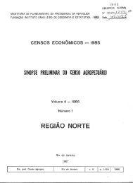 REGIÃO NORTE - Biblioteca do IBGE