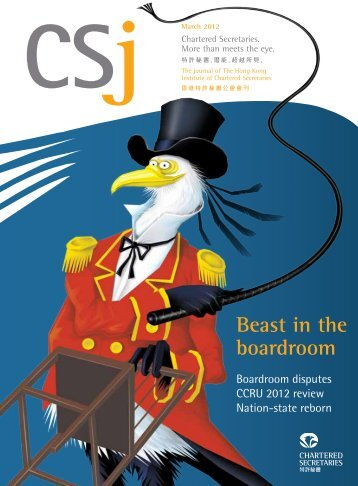 March 2012 - CSJ Magazine - The Hong Kong Institute of Chartered ...