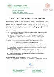 [pdf] Microsoft Word - GuidaAllaDonazione.doc