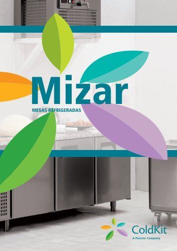 Mizar - Mesas refrigerados - Coldkit